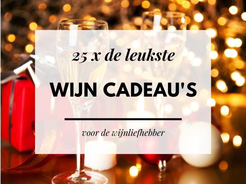 25 x de leukste cadeau's voor wijnliefhebbers