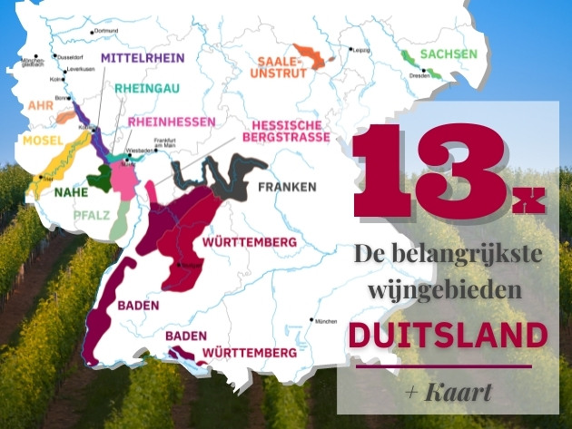 Wijngebieden Duitsland: Borrelen bij de buren