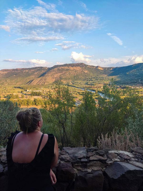Uitzicht Bosa