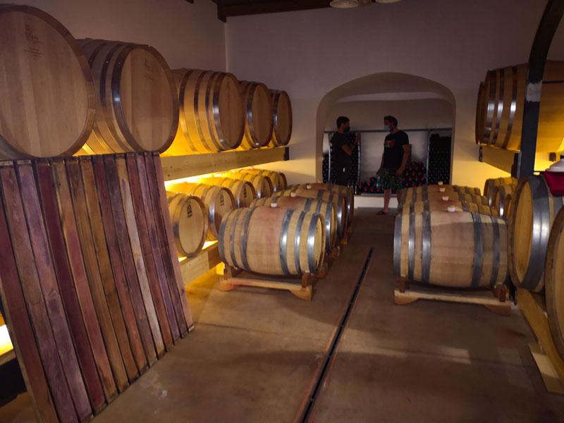Wijnkelder Guiseppe Sedilesu