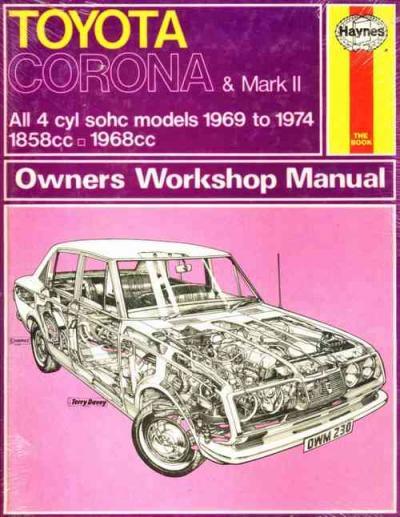 Toyota Mark II Service Manual PDF - 4car-manual
