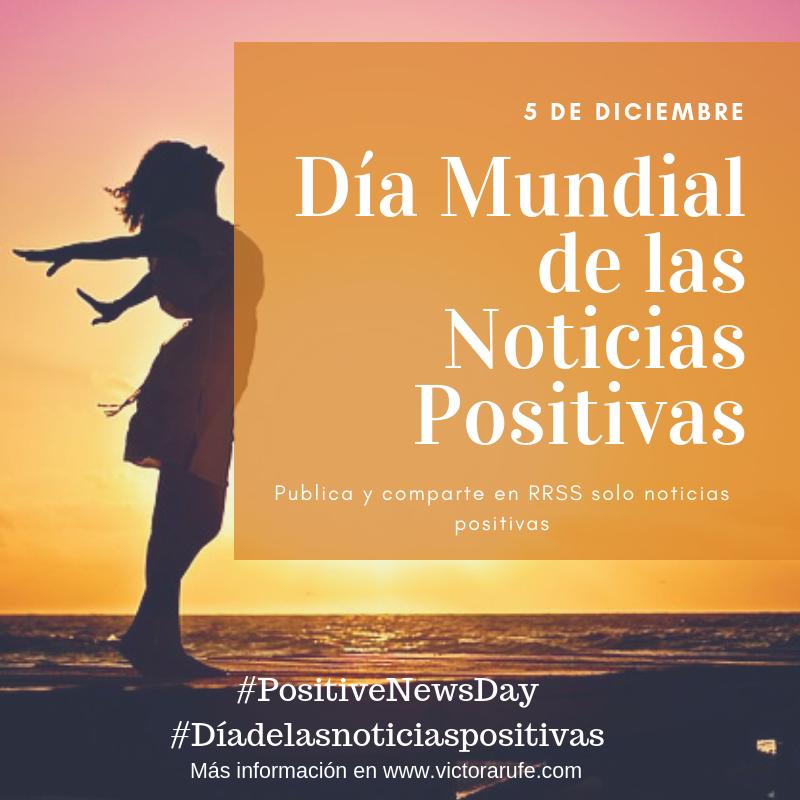 Imagen Oficial del Día Mundial de las Noticias Positivas / Official World Positive News Day Image