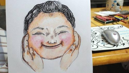 【ぷくぷく下子】plump cheeks  -youngest daughter 3
