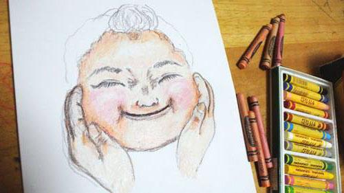 【ぷくぷく下子】plump cheeks  -youngest daughter 2