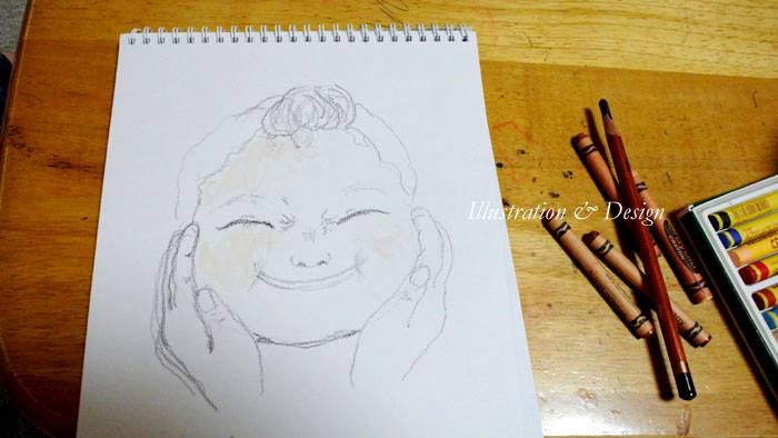 【ぷくぷく下子】plump cheeks  -youngest daughter 1