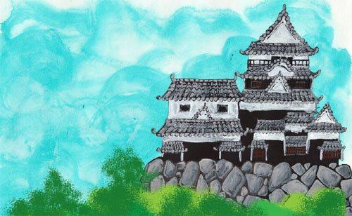 【松山城】 Matsuyama Castle (2012)