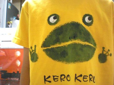 【 KERO KERO 】front -acrylic paints (2004)