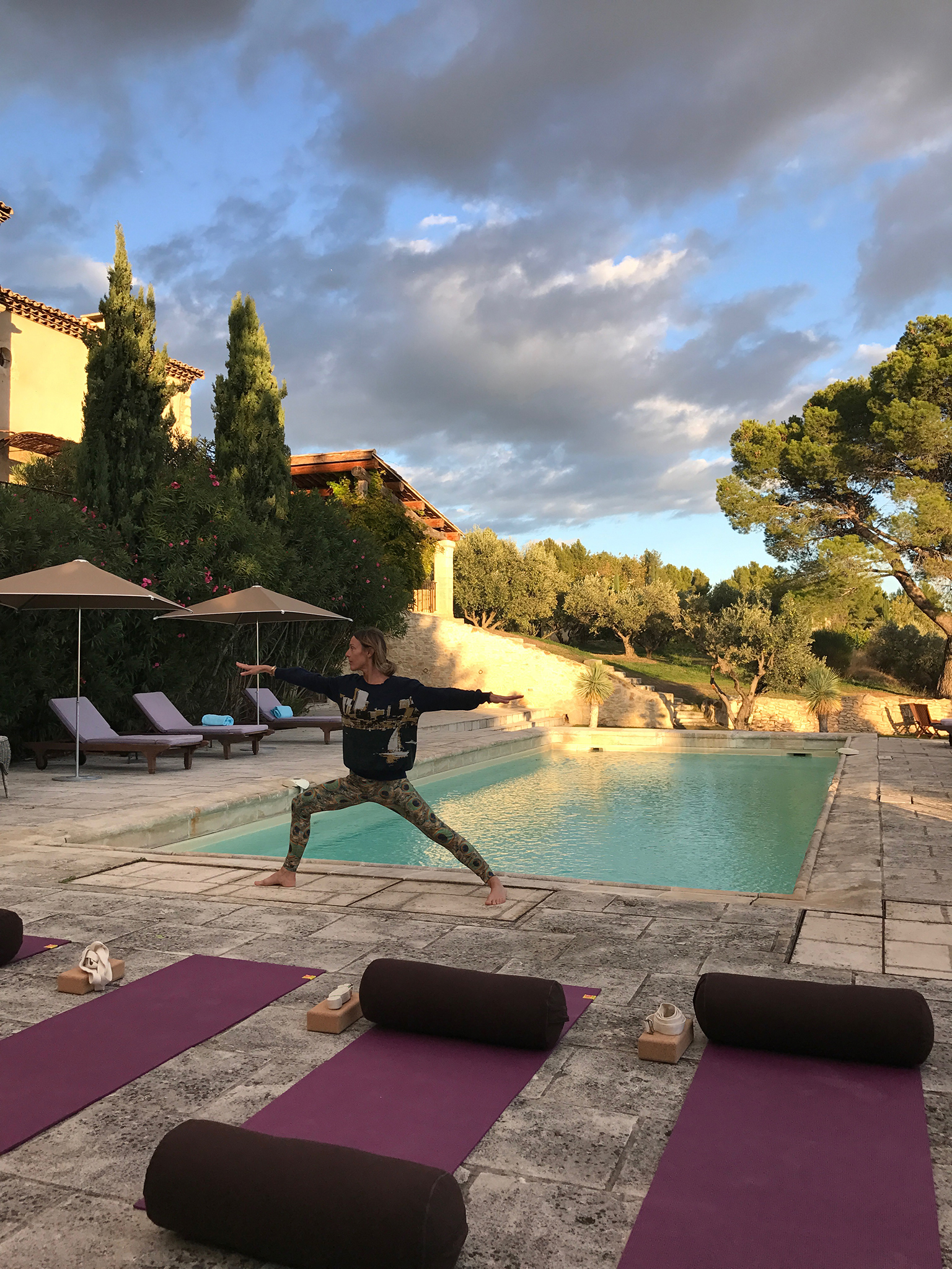 Take a break with a yoga retreat in south of France