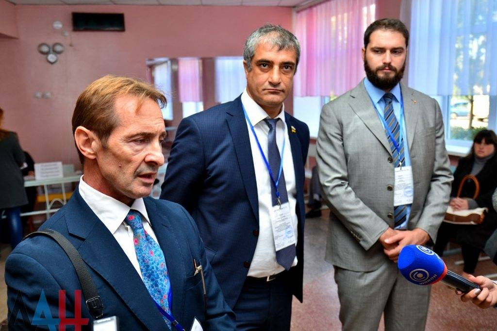 v.l.n.r.: Eliseo Bertolasi, Amiran Dyakonov, Maurizio Marrone