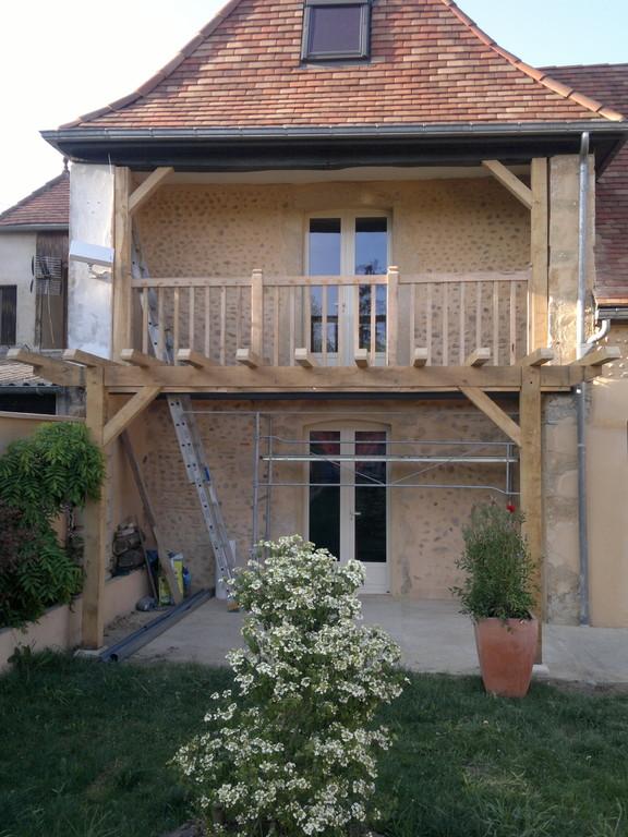 Pergola et balcon - Lembeye (64)