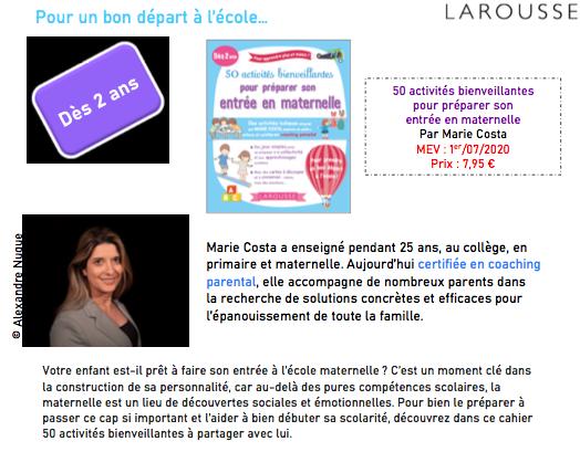 Larousse Marie Costa