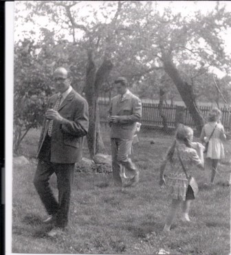 1970 Lehrer Fritz Winkler und Herr Jahrens