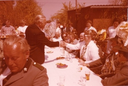 1980 Hermann Predöhl beim König Gerhard und Irmgard Külbs