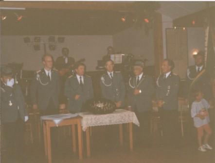 1990 Jens Hesebeck,Dieter Hesebeck,Willi Griebke,Karl-Heinz Scheidel,Willi Dibbert,Frank Borchert
