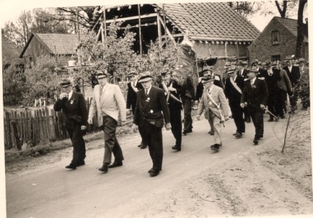 1954 Himmelfahrt August Kölln,Otto Barge,Ernst Wiegmann,evtl Kamradt,H.Emme,Friedrich Quast