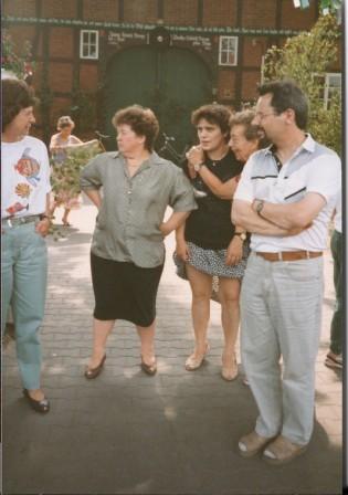 1993 vl. Inge Rubach,Inge Blütgen,Anne Krüger,Almut Peters,Eckhard Beyer
