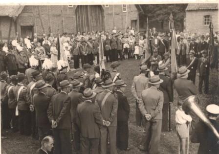 1954 40-jähriges Jubiläum auf Hof Wiegrefe,Breese