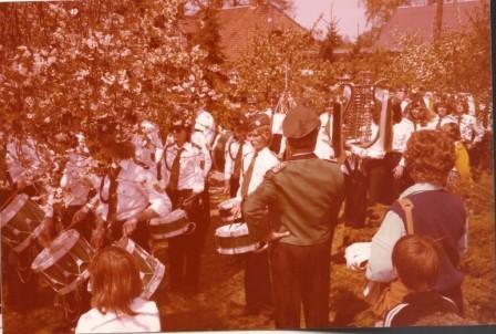 1980 beim König Gerhard und Irmgard Külbs