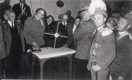 1964 vor der Proklamation Heinrich Kammradt,Otto Barge,A.W.Schulz,August Kölln,Gerhard Strilziw,Ewald Strohm,Adolf Stahlbock