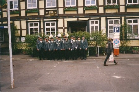 1996 König Berthold Christ und Abordnung
