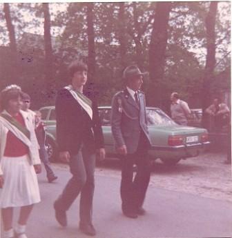 1982 Kinderkönige Jörg-Heinrich Siemke und Christine Külbs