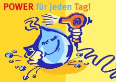 Illustration »Wasserkraft aus Bayern« – Bayernwerk