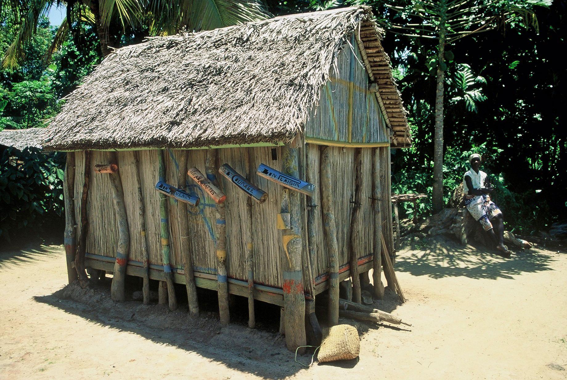 Case villageoise sur l'île Ste-Marie