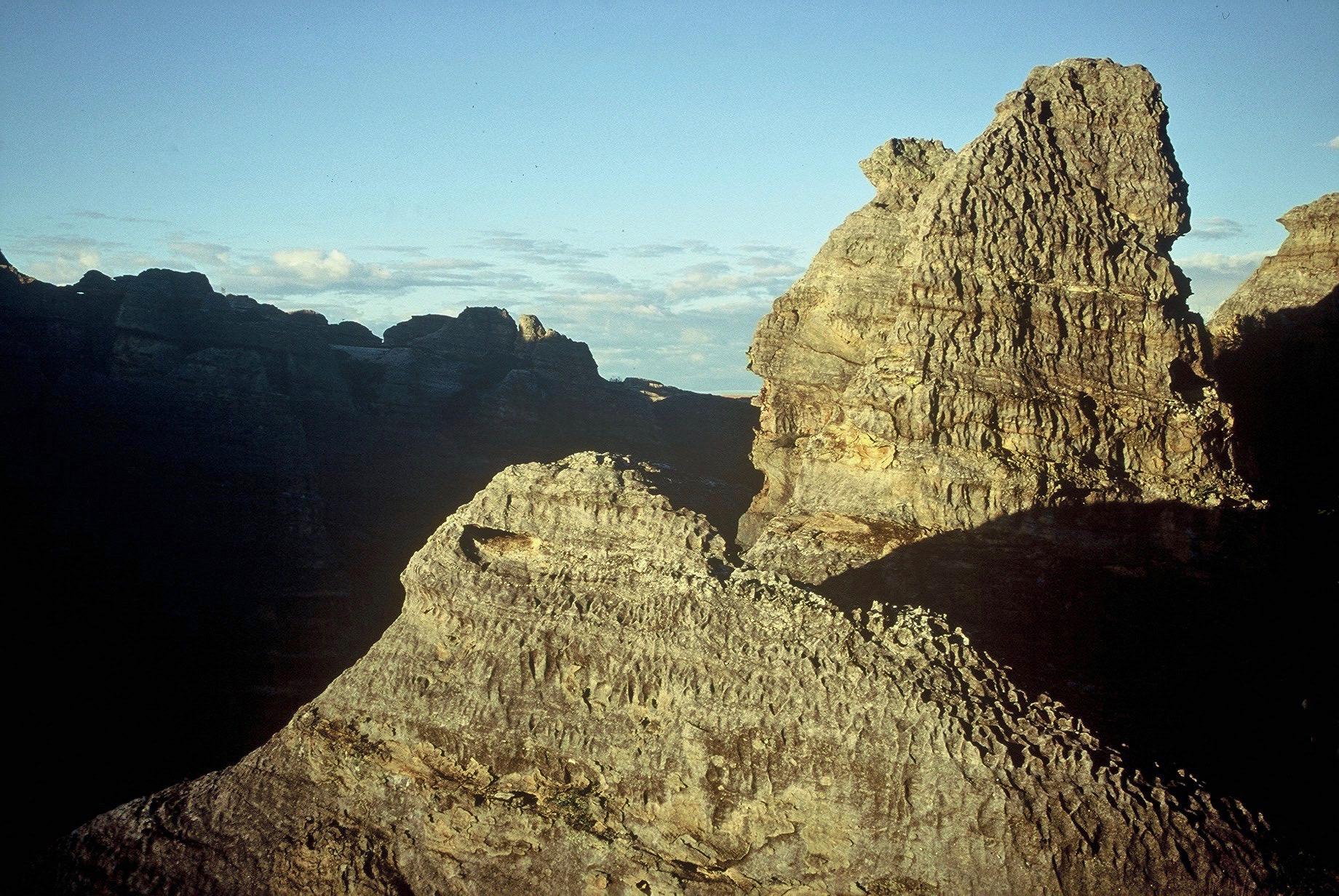 Massif de l'Isalo à Madagascar