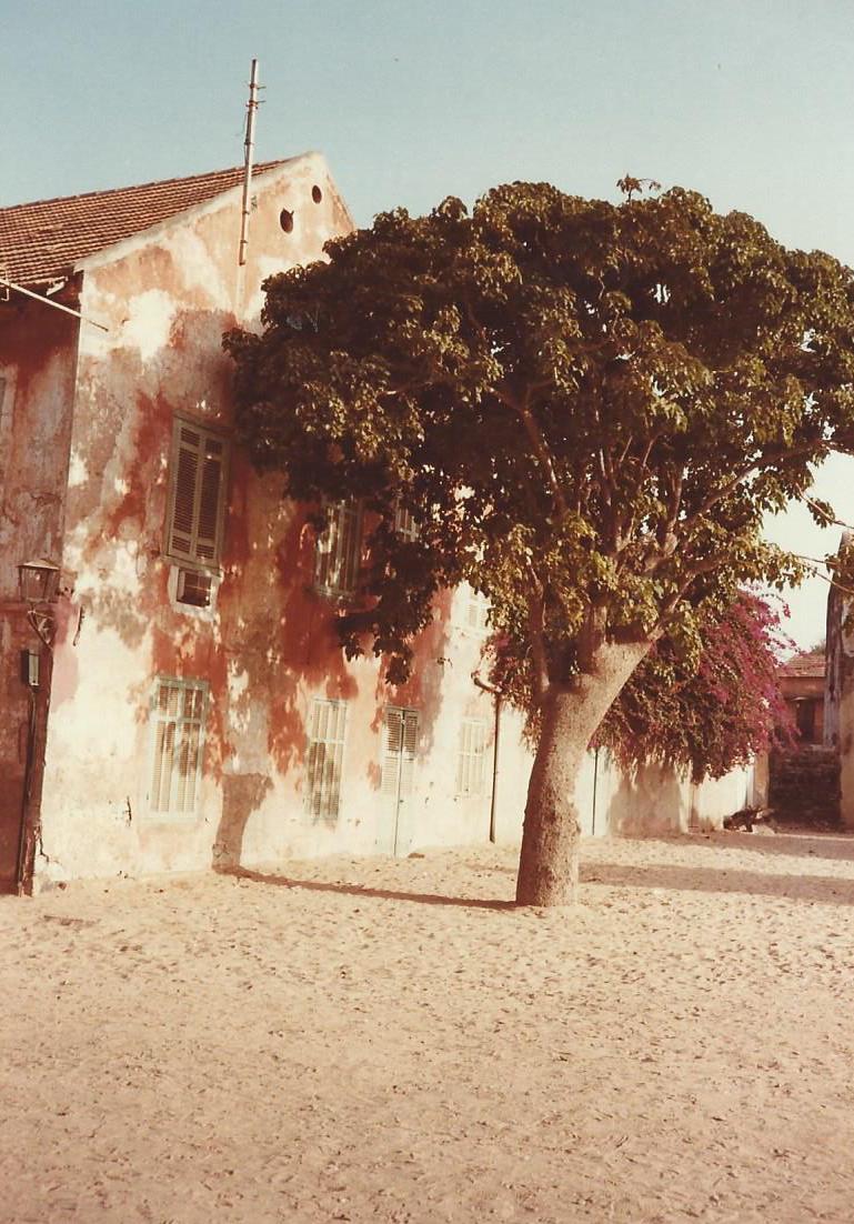 Sur l'île de Gorée