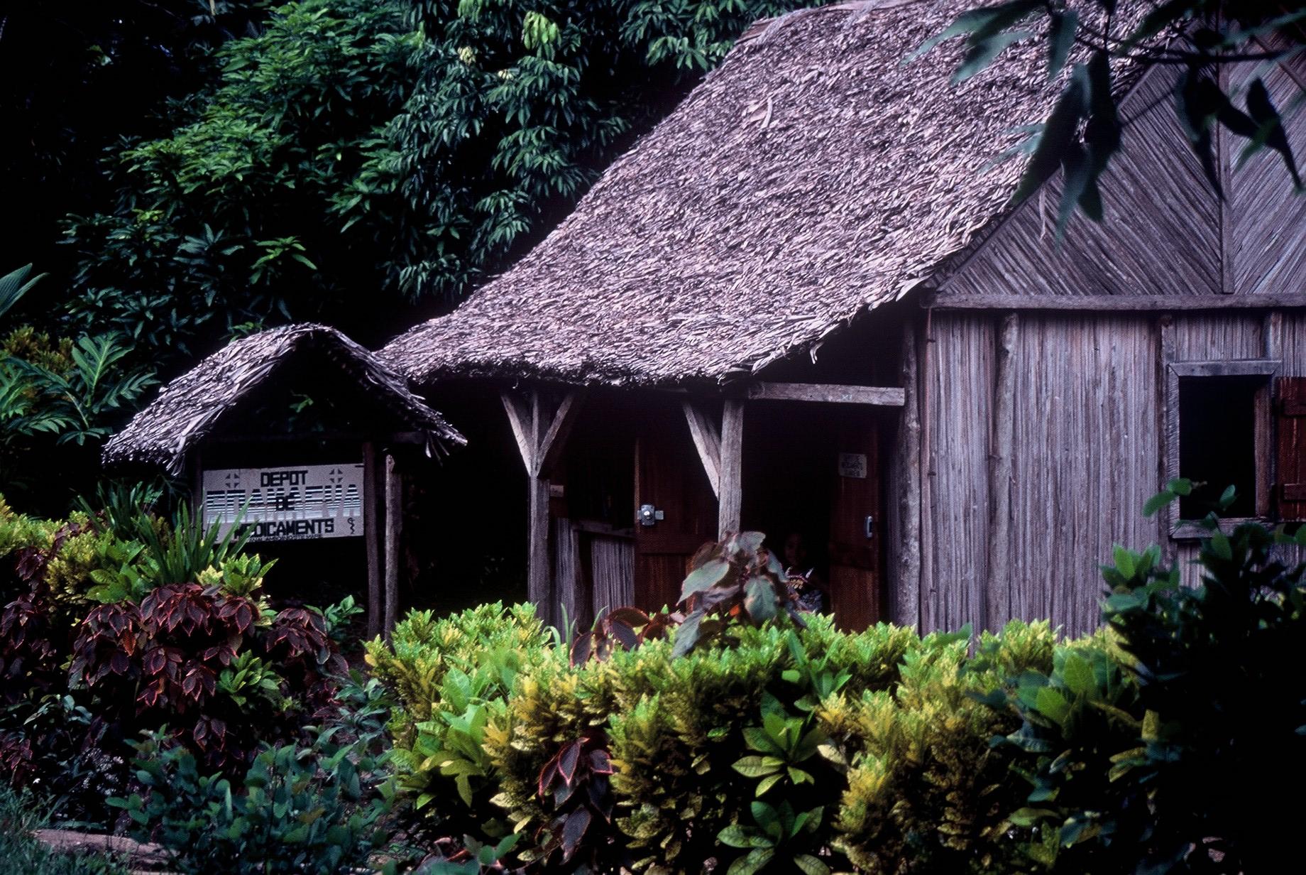 Joli village St-Marien à Madagascar