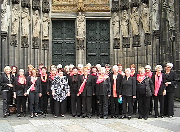 Viva la music vor dem Kölner Dom