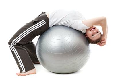 fysiotherapie oefenbal