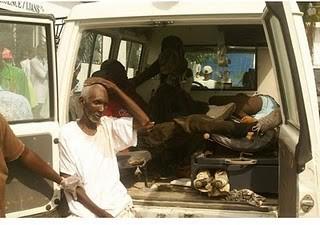 Les victimes sont traitées dans de mauvaises conditions car il n'y a plus de lits à l'hôpital