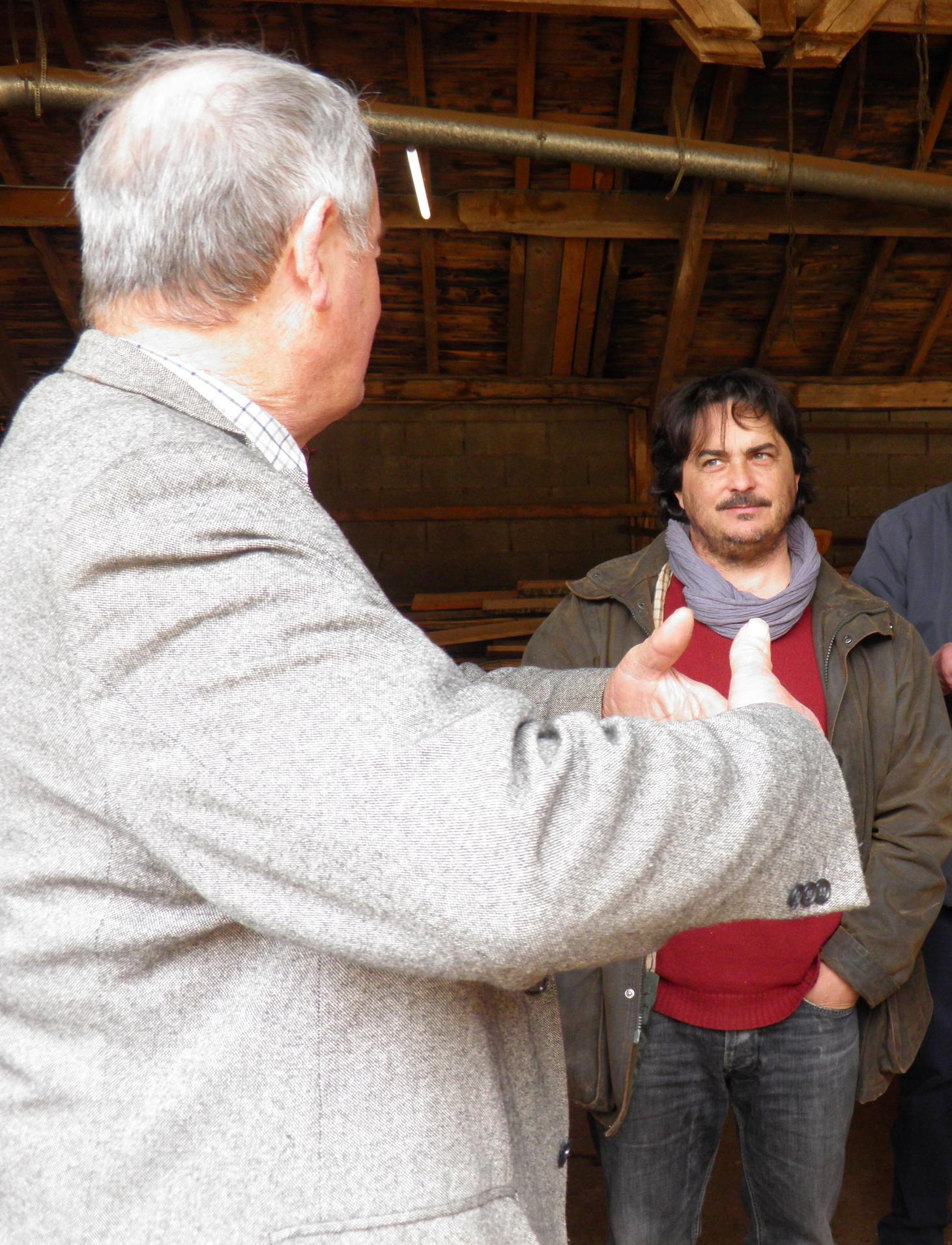 Louis GARRIGOU commente son métier de feuillardier...