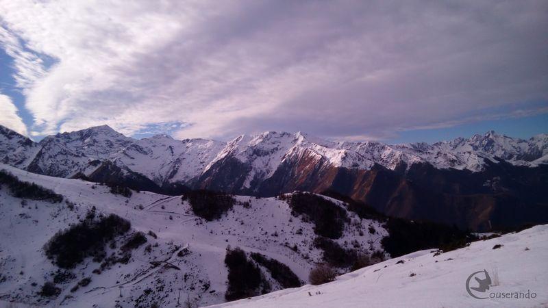 Randonnée en raquettes - Doriane GAUTIER, Couserando - Guzet Ariège Pyrénées