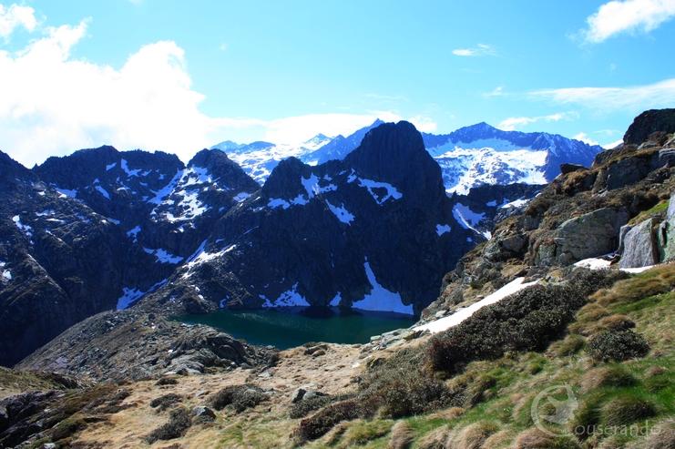 Etang d'Aubé -  Doriane GAUTIER, Couserando - Randonnée Nature Ariège Pyrénées