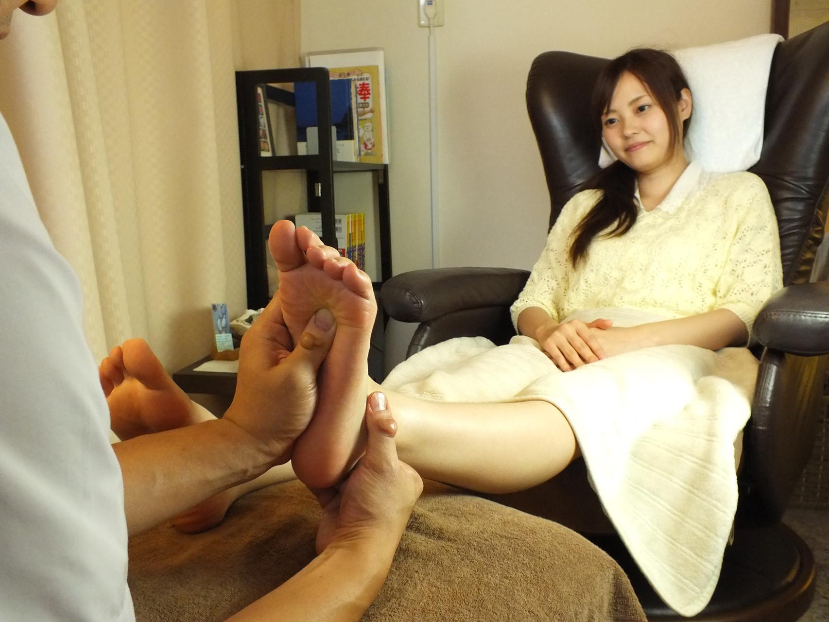 足裏の反射区や筋肉をトータルケア