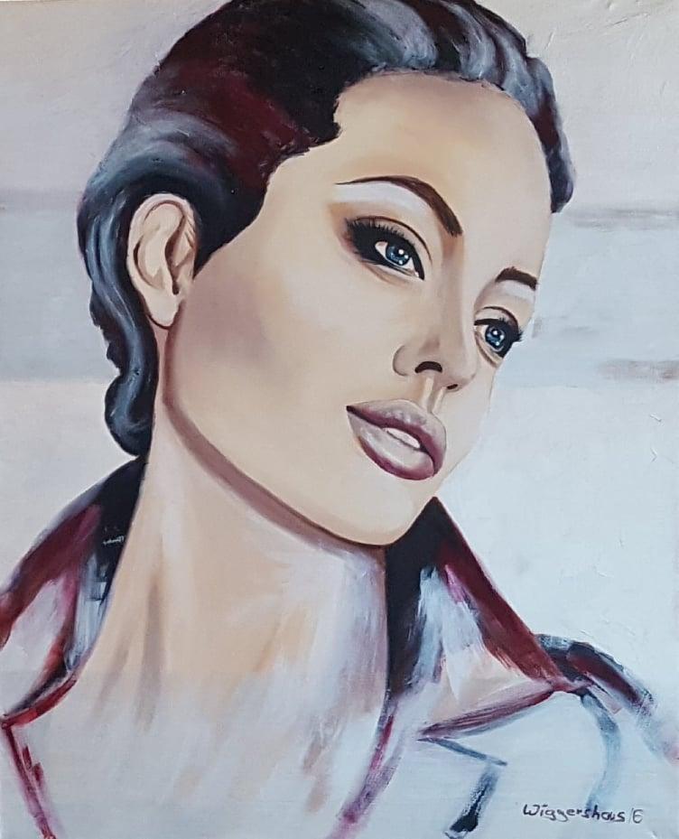 Angelina I ...100x80 cm
