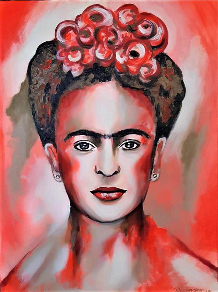 Frida...80x60 cm