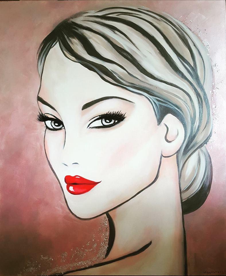 Beauty II.... 120x100 cm