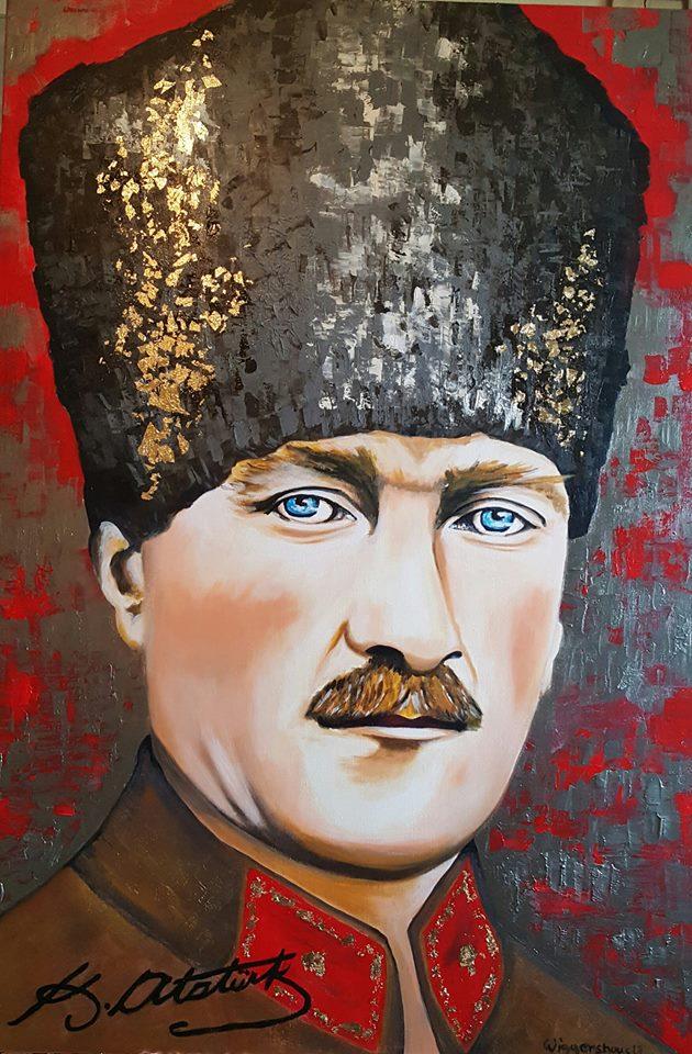 Atatürk...150x100 cm
