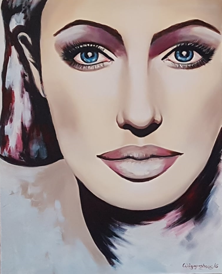 Angelina II... 100x80 cm