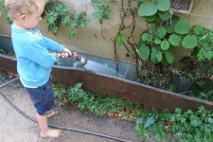 Wasser sprengen Kinder