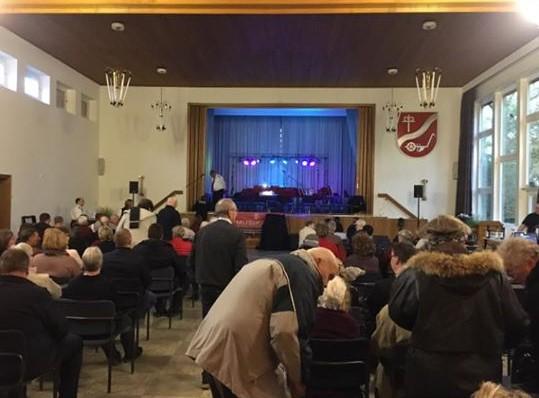 Veranstaltung im Fichtenhofsaal in Rickling