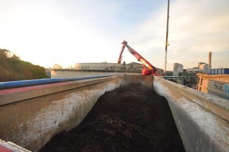Fermenterreinigung bei Agrikracht Rumbeke in Belgien