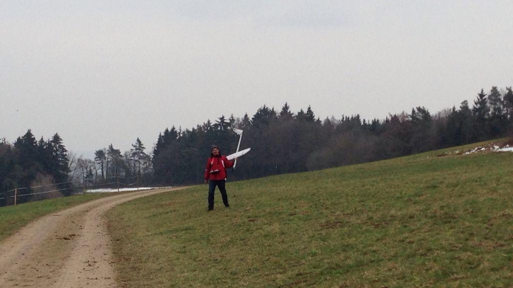 """Nordwind am """"Kalten Wangen"""" im März"""
