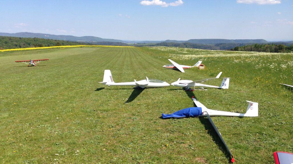 Einweihungsfliegen Turbine-Klettgau