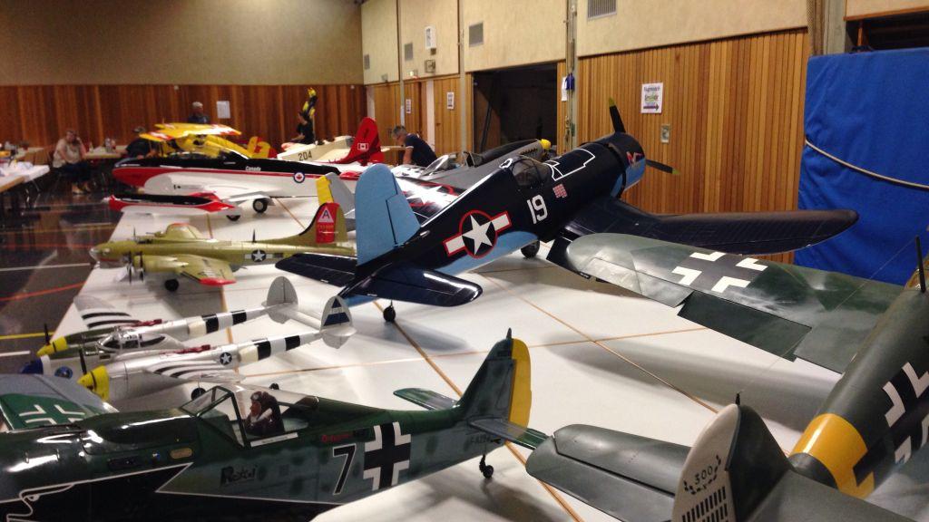 Flugmodell-Ausstellung in Lauchringen