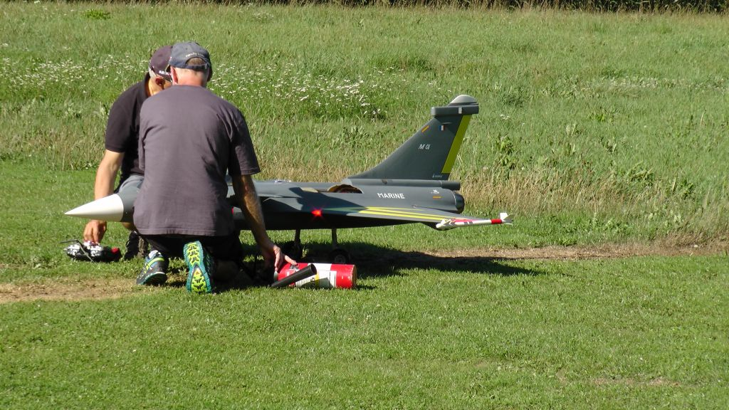 Grill & Fly bei der MFG-Küssaburg