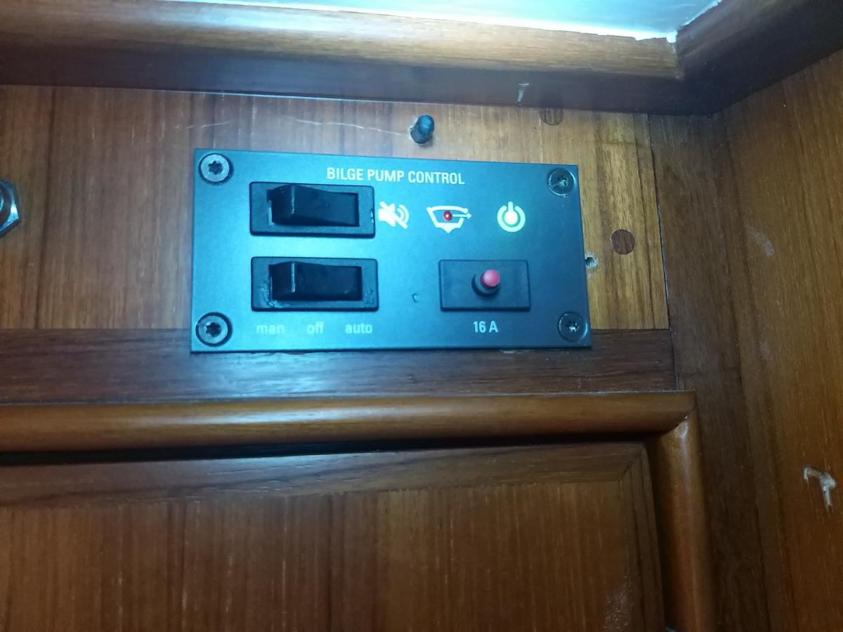 Panel automatische Lenzpumpe